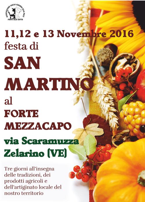 Festa di san martino al forte mezzacapo events venezia for Immagini da colorare di san martino
