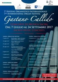 VII festival organistico internazionale Gaetano Callido