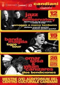Locandina Candiani Groove Maggio 2016