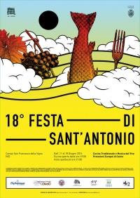 locandina Festa di Sant'Antonio a San Francesco della Vigna