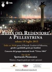 Redentore a Pellestrina il manifesto