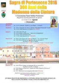 Programma della Sagra di Portosecco