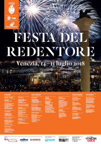 Festa del Redentore 2018 - Manifesto Ufficiale