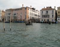 Gondola ride in Grand Canal