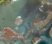 Mappa percorso Vogalonga Venezia