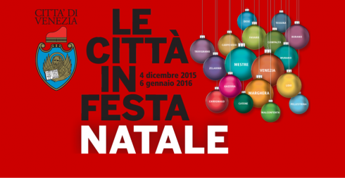 Le città in festa Natale 2015