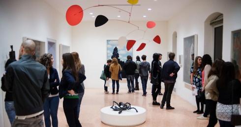 Interni della Peggy Guggenheim Collection