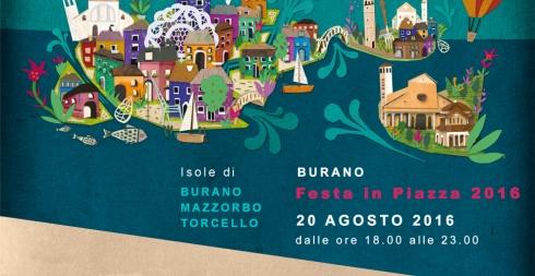 Burano Festa in piazza 2016