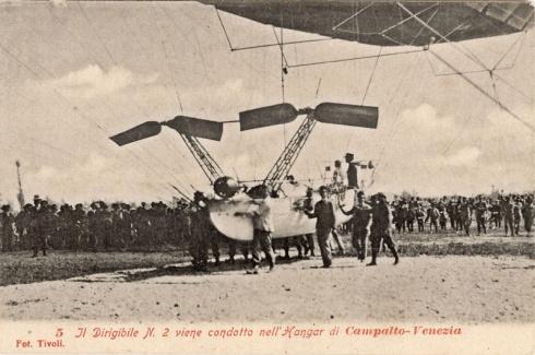 i dirigibili di Campalto