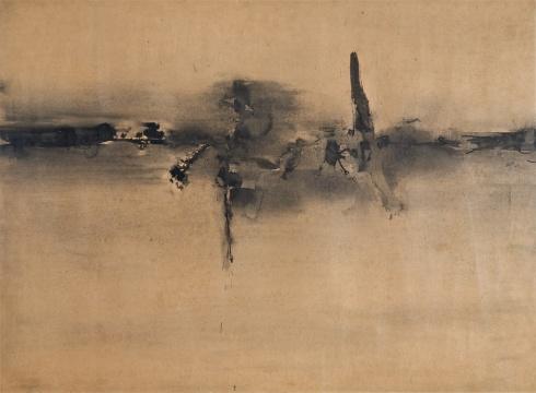V. S. Gaitonde, Untitled, 1962