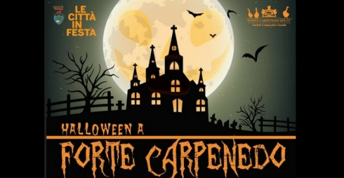 Locandina dell'evento Halloween a Forte Carpenedo