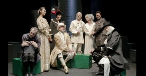 L'avaro - una scena dello spettacolo
