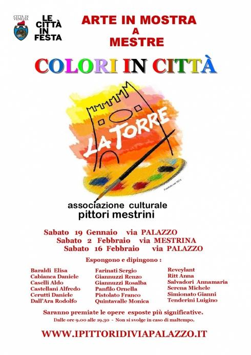colori in città