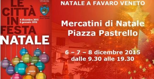 Mercatini Piazza Pastrello Favaro Veneto