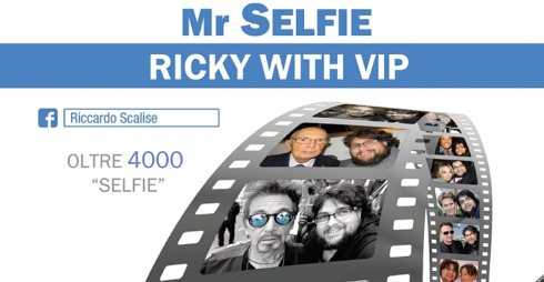 Mr Selfie Ricky with vip