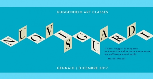 Guggenheim Art Classes 2017 - locandina