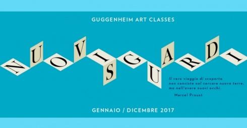 Guggenheim Art Classes 2017 - locandina