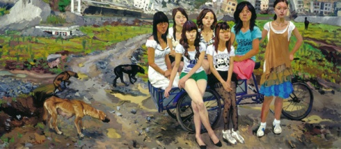 Liu Xiaodong. Painting as shooting