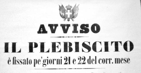 plebiscito annessione del Veneto 1866