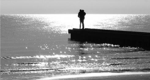 Il mare d'inverno di Riccardo Roiter