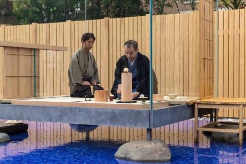 Hiroshi Sugimoto. Glass Tea House Mondrian © Hiroshi Sugimoto + New Material Research Laboratory. Courtesy: LE STANZE DEL VETRO. Foto: Enrico Fiorese
