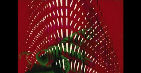 Titina Maselli La ville II, 1971, olio su tela, 119.5x201 cm