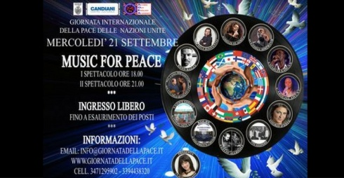 World Peace Day locandina