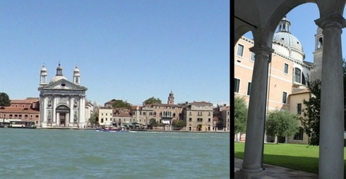 A sinistra le Zattere, a destra immagine del Centro Culturale Artigianelli