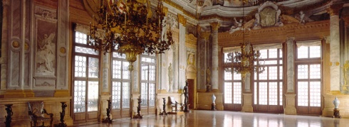 Ca' Rezzonico ballroom