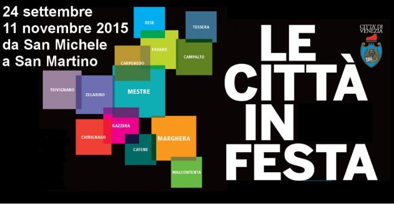 Le città in Festa