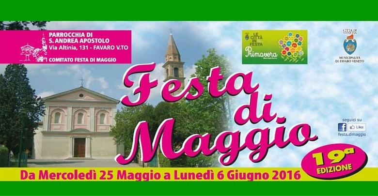 Festa di Maggio 2016, locandina