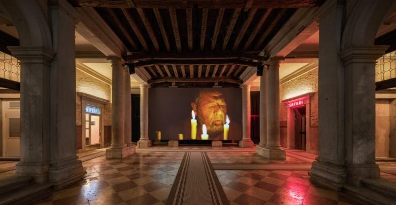 """View of the exhibition/Veduta della mostra """"The Boat is Leaking. The Captain Lied"""". Photo/Foto: Delfino Sisto Legnani e Marco Cappelletti."""