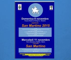 Locandina San Martino 2015 a Mestre