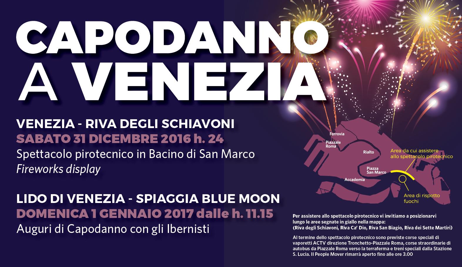 Capodanno 2017 A Venezia E A Mestre Events Venezia Unica