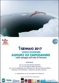 Auguri degli ibernisti Lido di Venezia 2017