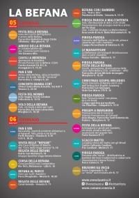 Programma Le città in festa Befana 2016