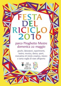 Festa del riciclo 2016, locandina