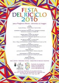 Festa del riciclo 2016, programma