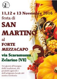 Locandina della Festa di San Martino