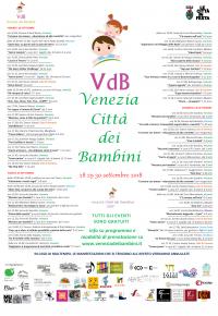 locandina Venezia Città dei Bambini