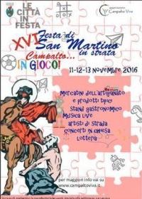 Locandina Festa di San Martino in Strata 2016