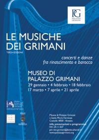 Locandina Musiche dei Grimani