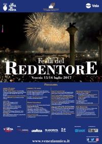 Manifesto Ufficiale Festa del Redentore 2017