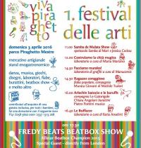 1 festival delle Arti Parco Piraghetto - Primavera 2016