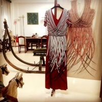 """Giuliana Cohen Italian fashion created the """"Roberta di Camerino"""" photo @VeneziadaVivere"""