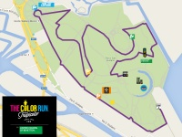 Tracciato Color Run Venezia