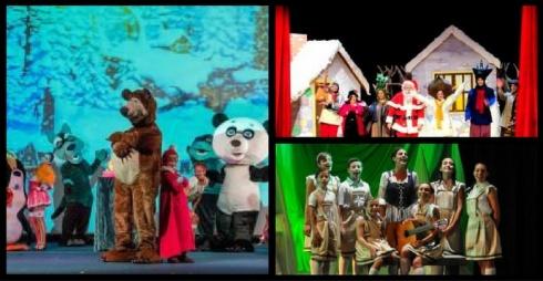 Natale sotto le feste - immagini di scena