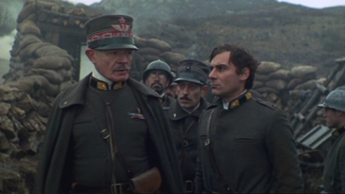 Una scena dal film Uomini contro