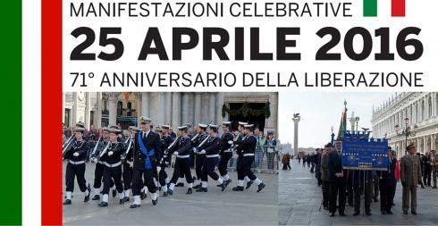 25aprile manifestazioni a venezia