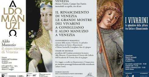 I Vivarini e Aldo Manuzio all'Ateneo Veneto